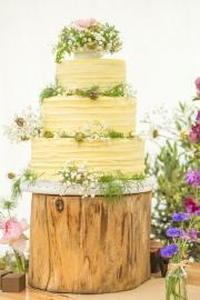 Simon-Charlotte-cake-flowers-delamere-flower-farm