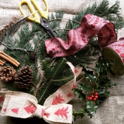 wreath-making