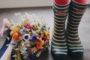 Festival Colourful Bridal Bouquet
