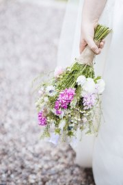 Meadow Bridal Bouquet Handtie at a May Wedding