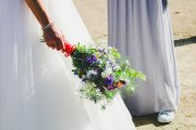May Wedding Meadow Bridal Bouquet Handtie