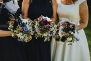 August Wedding Seasonal Flowers Bridal Bouquet