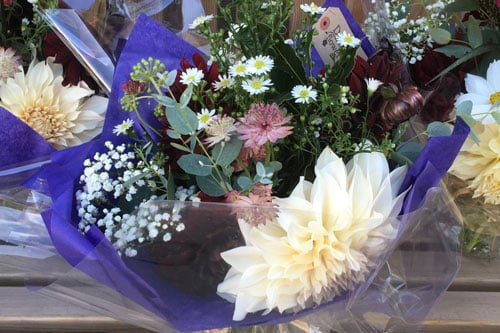 Gift Bouquet from Delamere Flower Farm in Cheshire